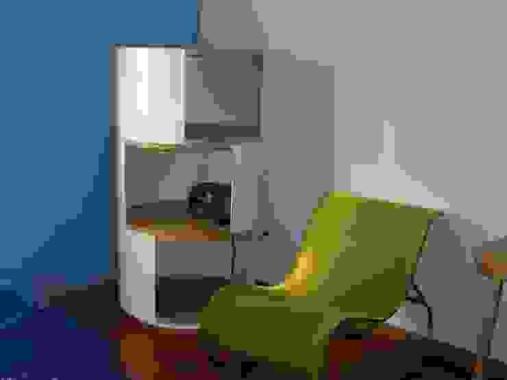 Renato Fernandes - arquitetura Habitaciones infantilesAlmacenamiento Madera Blanco