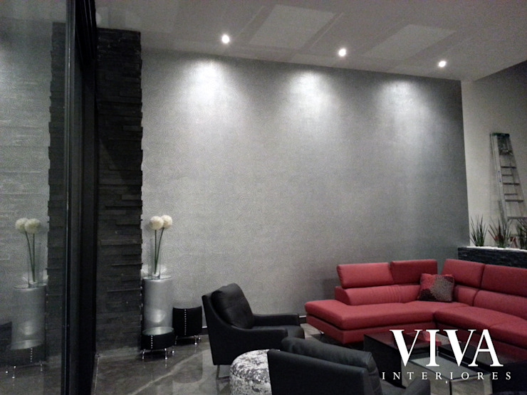 VIVAinteriores Living room Grey