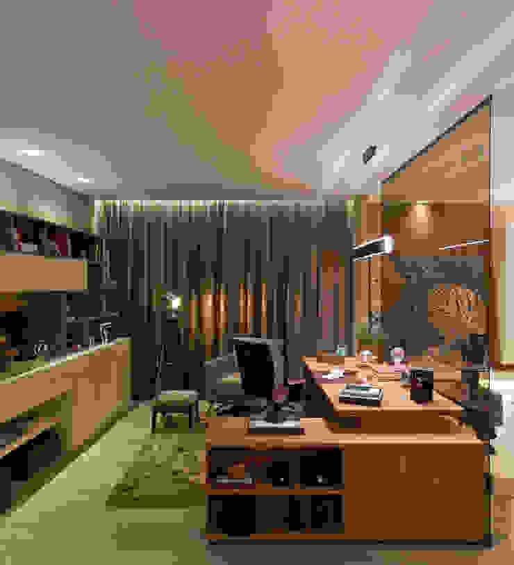 Casa Cor Minas – Estar e Escritório Escritórios clássicos por Interiores Iara Santos Clássico
