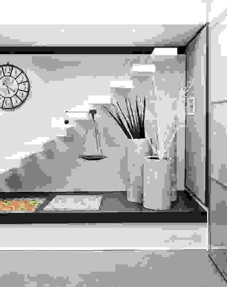 show-room a San Zeno Naviglio Pareti & Pavimenti in stile moderno di Resin srl Moderno
