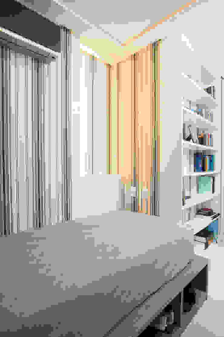 Eklektyczna sypialnia od Alexandre Magno Arquiteto Eklektyczny