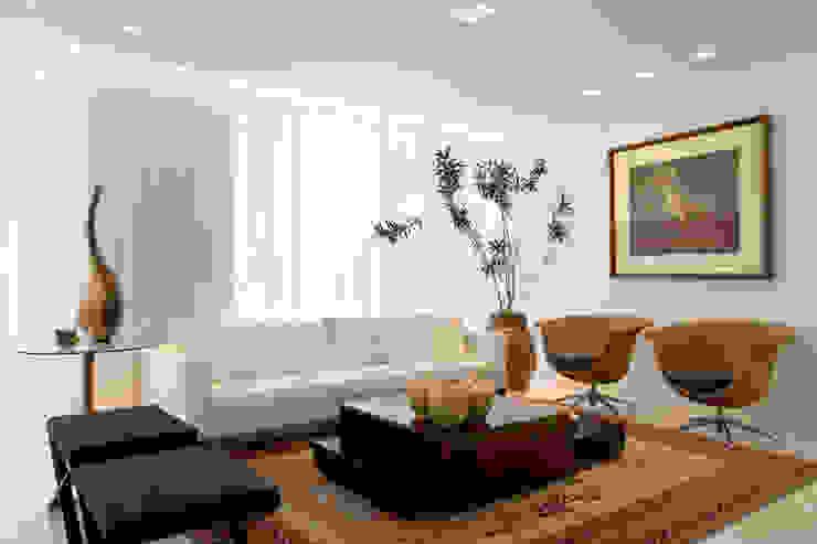 Moderne Wohnzimmer von Viviane Lima Arquitetura Modern