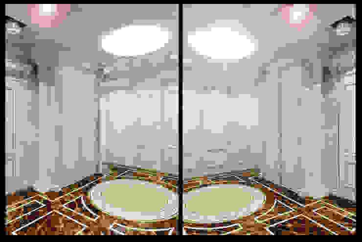 Квартира на Оболонской набережной Киева Коридор, прихожая и лестница в эклектичном стиле от 27Unit design buro Эклектичный