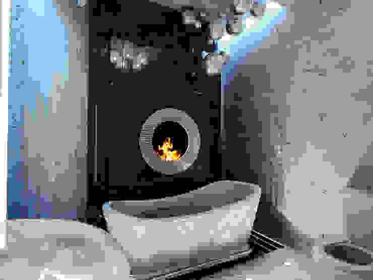 Квартира на Оболонской набережной Киева Ванная комната в эклектичном стиле от 27Unit design buro Эклектичный