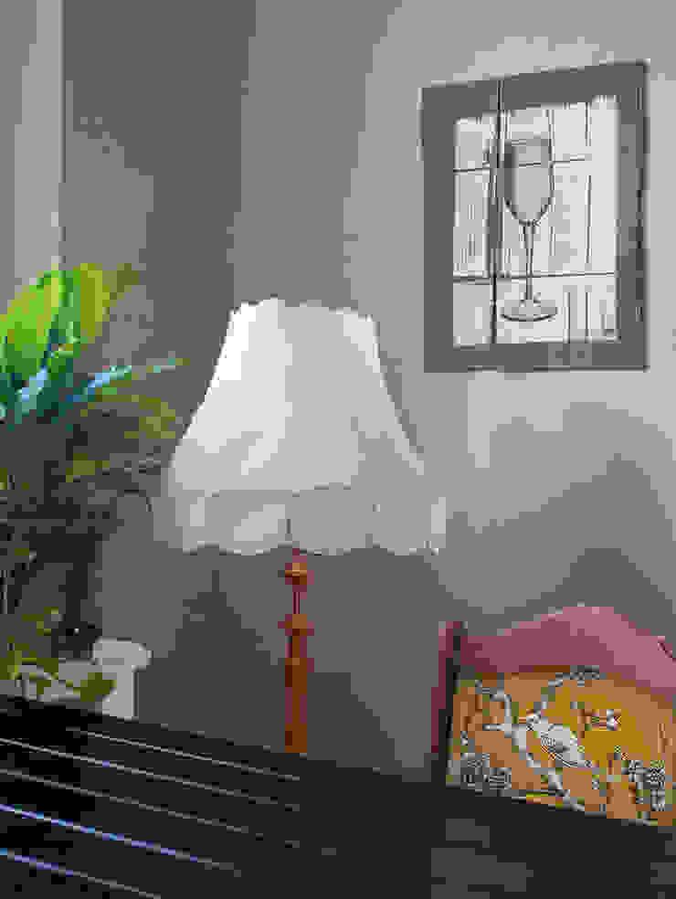 Siri's vintage Interieur Adeline Labord Interiors Ausgefallene Küchen Holz Pink