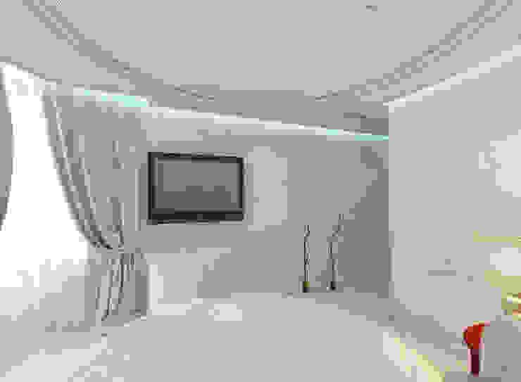 Квартира на Оболонской набережной Киева Спальня в эклектичном стиле от 27Unit design buro Эклектичный