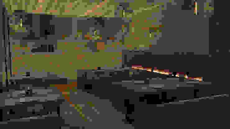 Restaurante de Zono Interieur Moderno
