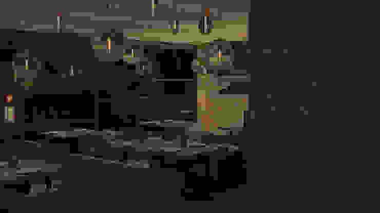 Diseño de mobiliario para restaurantes de Zono Interieur Moderno