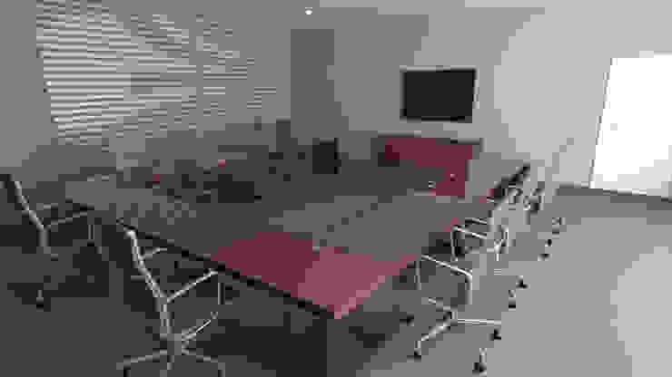 Sala de juntas de Zono Interieur Moderno Vidrio