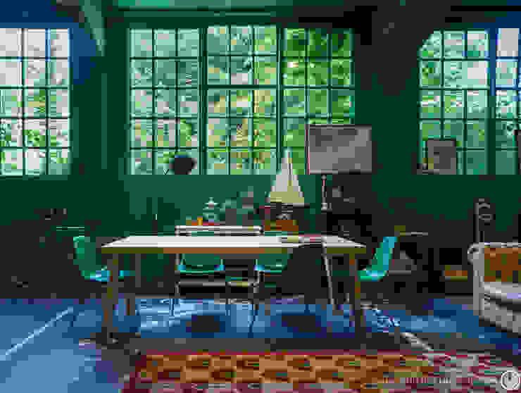 黄绿色和翡翠绿:在家居装修中如何运用这两种颜色?