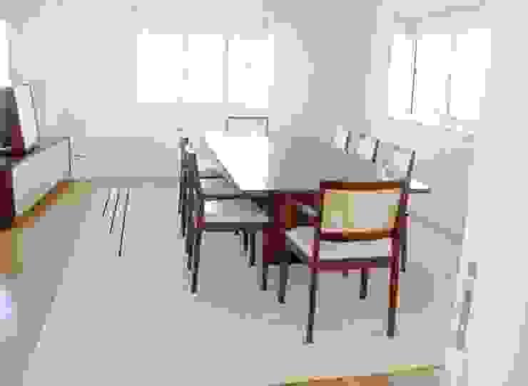 Renato Fernandes - arquitetura ComedorAccesorios y decoración Lana Blanco