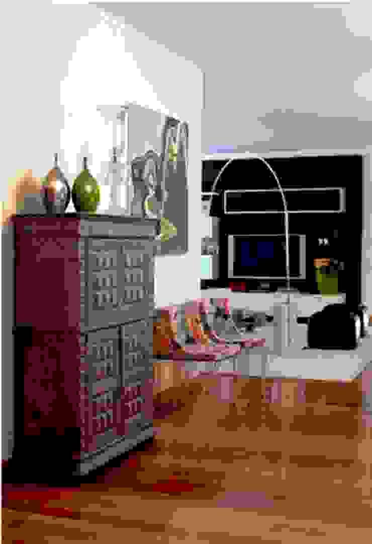 Hall de entrada da zona de estar Salas de estar modernas por Andreia Marques Designer de Interiores Moderno