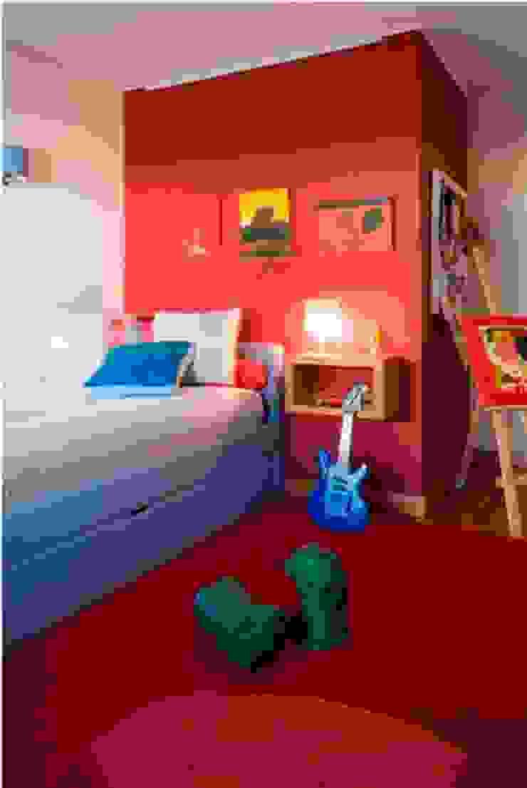 Apartamento de sonho para uma família Feliz em Lisboa Quartos de criança modernos por Andreia Marques Designer de Interiores Moderno Têxtil Ambar/dourado