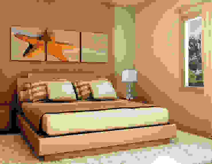 Class Iluminación Camera da letto moderna