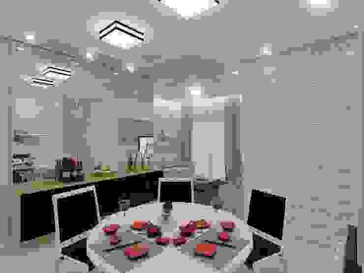 Modern dining room by Merlincon Prestes Arquitetura Modern