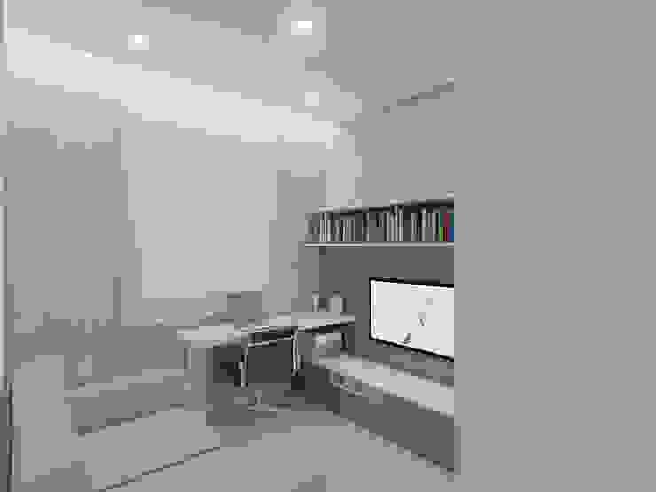 Modern style study/office by Merlincon Prestes Arquitetura Modern