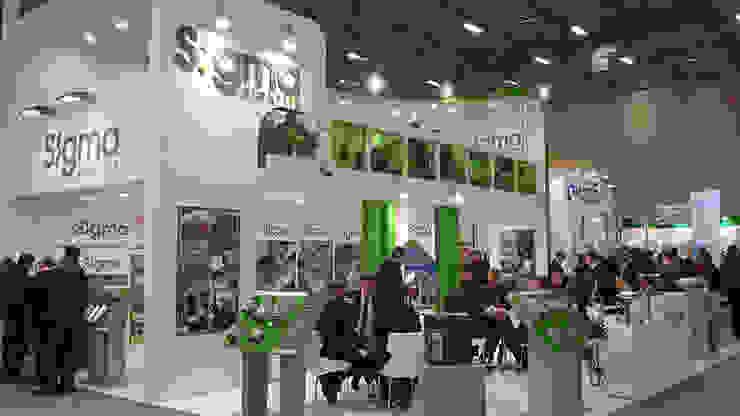 Sigma Elektrik Endüstriyel Sergi Alanları Derin İnşaat ve Mimarlık Endüstriyel