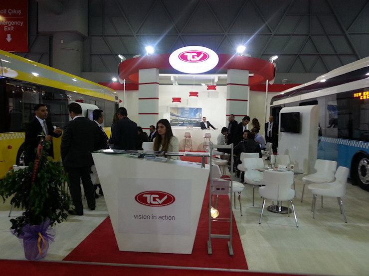 TCV Endüstriyel Sergi Alanları Derin İnşaat ve Mimarlık Endüstriyel