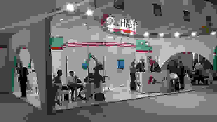 Hasel (Kobelco & Terex) Endüstriyel Sergi Alanları Derin İnşaat ve Mimarlık Endüstriyel