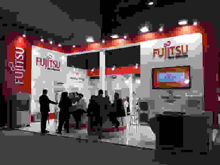 Fujitsu Endüstriyel Sergi Alanları Derin İnşaat ve Mimarlık Endüstriyel