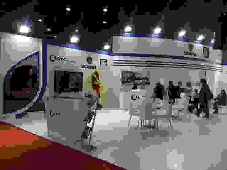 OTC (Scania & Oghab) Endüstriyel Sergi Alanları Derin İnşaat ve Mimarlık Endüstriyel