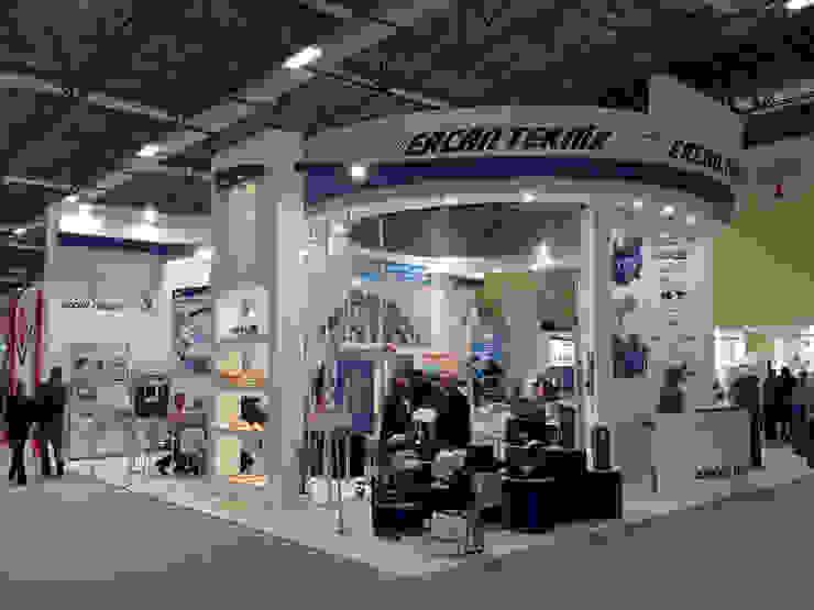 Ercan Teknik Endüstriyel Sergi Alanları Derin İnşaat ve Mimarlık Endüstriyel