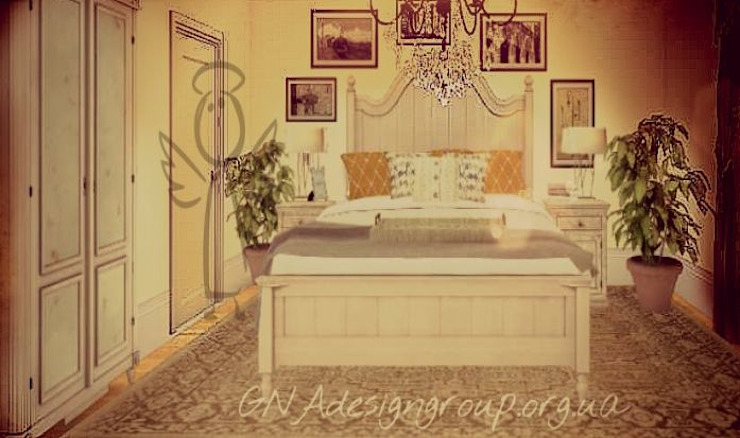 Уют Спальня в стиле кантри от GNAdesigngroup Кантри
