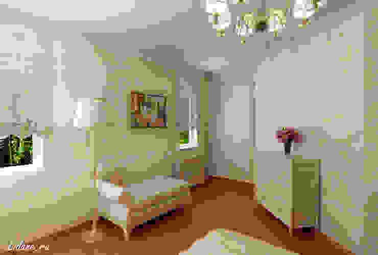 Спальня в частном коттедже. Сочи Спальня в классическом стиле от Lidiya Goncharuk Классический