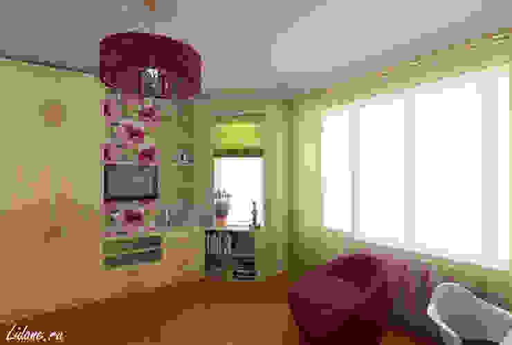 Eclectic style bedroom by Lidiya Goncharuk Eclectic