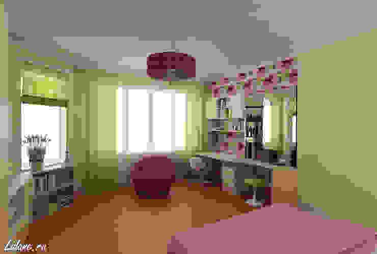 Комната для молодой девушки. Сочи Спальня в эклектичном стиле от Lidiya Goncharuk Эклектичный