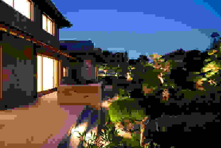日本庭園 モダンな庭 の 株式会社 中村建築設計事務所 モダン