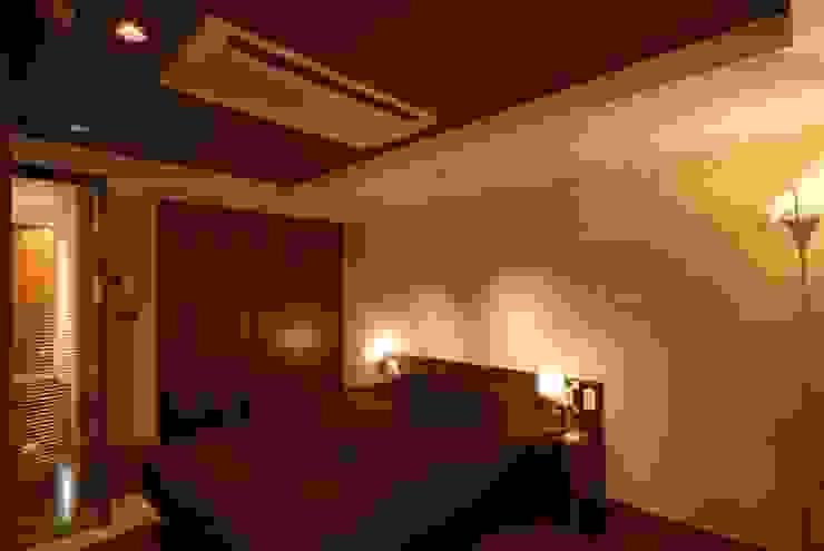 アフター 天井: 株式会社 中村建築設計事務所が手掛けたアジア人です。,和風
