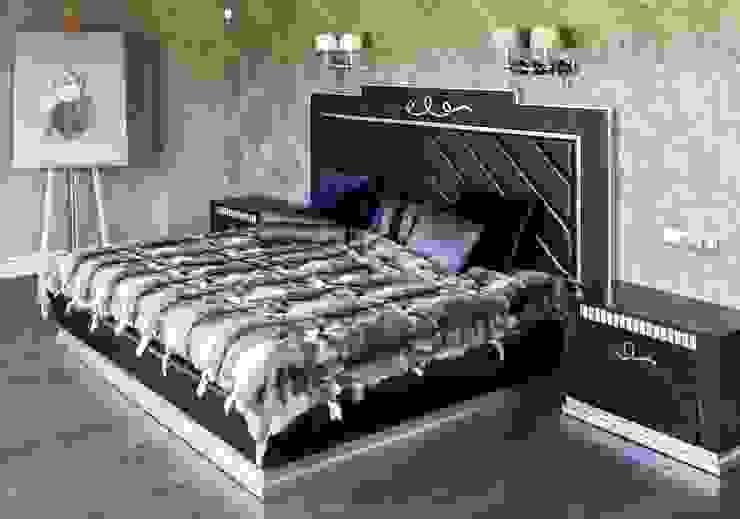 спальня от Kisliakova Elena Interiors Эклектичный