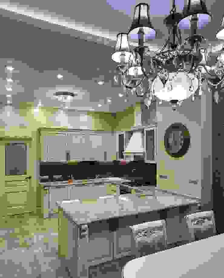кухня от Kisliakova Elena Interiors Эклектичный