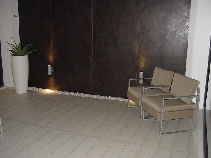 Salas de estilo moderno de EPG-Arquitécnico Moderno