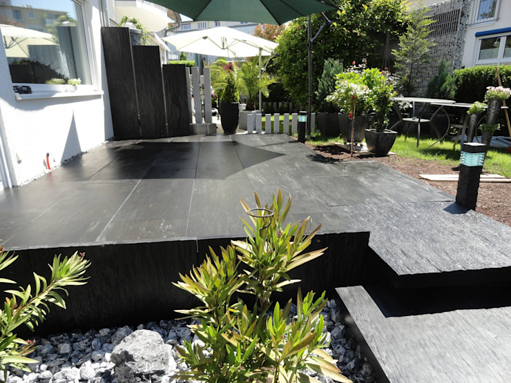 Patios by MM NATURSTEIN GMBH,