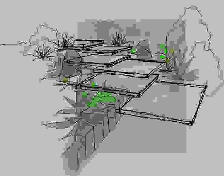 MM NATURSTEIN GMBH Modern Garden