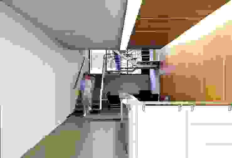Oficinas Grupo Jar de AaC+V Arquitectos Moderno