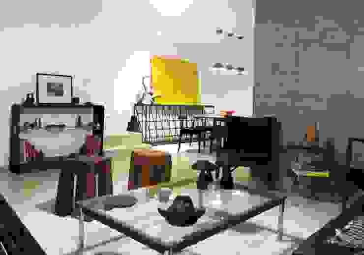 Casa Salones modernos de AaC+V Arquitectos Moderno