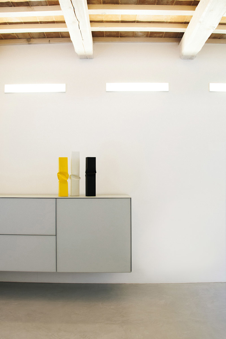 Phòng khách phong cách Địa Trung Hải bởi Ossigeno Architettura Địa Trung Hải