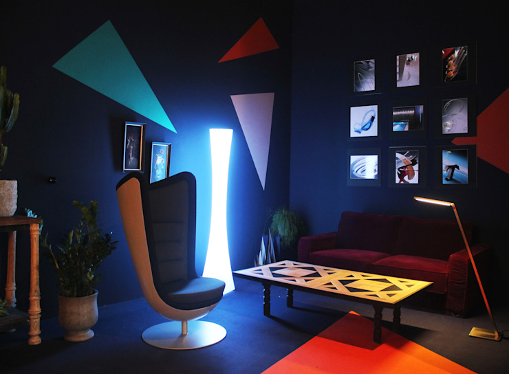 Moderne Wohnzimmer von BARASONA Diseño y Comunicacion Modern