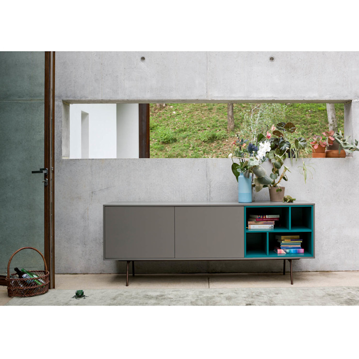 'Grey Modern' designer sideboard by Dall'Agnese de My Italian Living Moderno Tablero DM