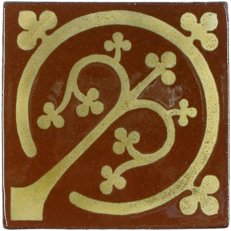 Tree of Life Pattern Tile: rustic  by Deiniol Williams Ceramics, Rustic Ceramic
