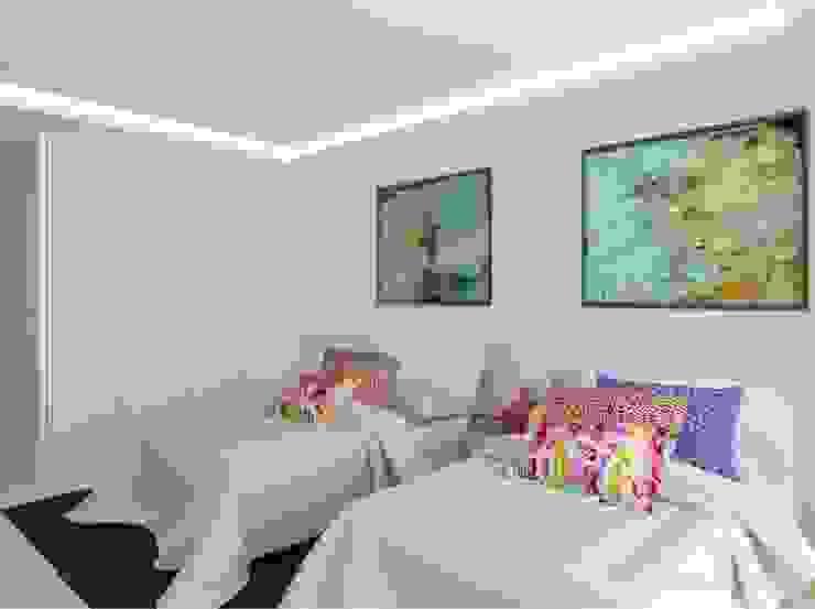DORMITORIO DE INVITADOS Dormitorios modernos: Ideas, imágenes y decoración de GUNNI & TRENTINO Moderno