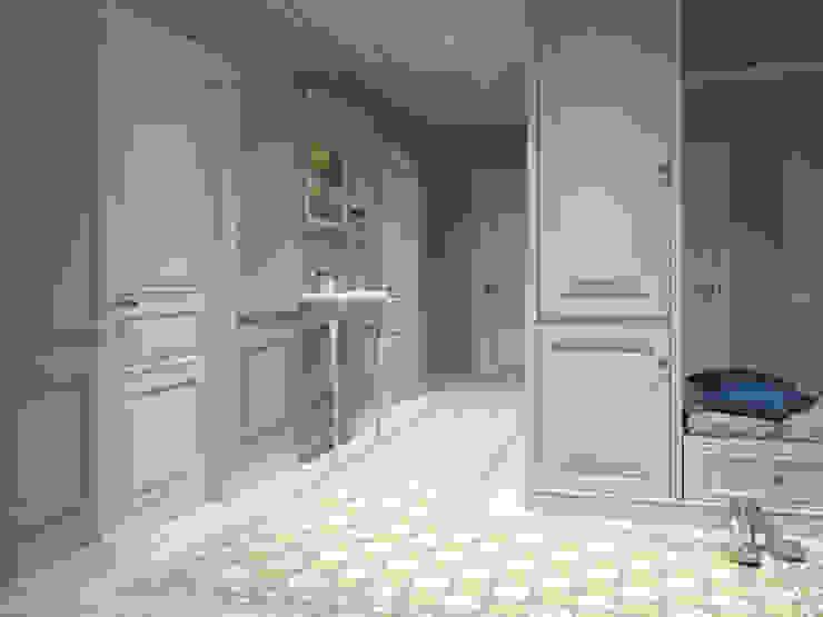Квартира-гарсоньерка Коридор, прихожая и лестница в эклектичном стиле от Дизайн-бюро № 11 Эклектичный