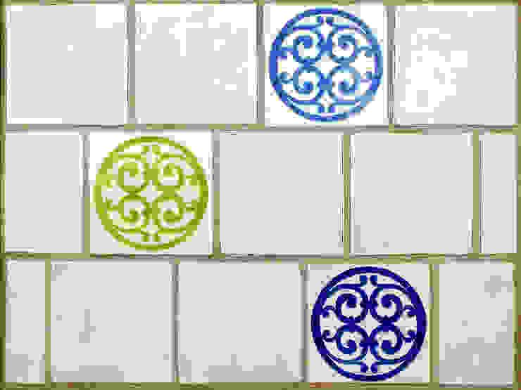 Contemporary Wall Tiles Deiniol Williams Ceramics 牆壁與地板磁磚 陶器