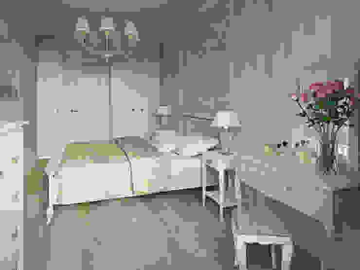 Квартира-гарсоньерка Спальня в эклектичном стиле от Дизайн-бюро № 11 Эклектичный