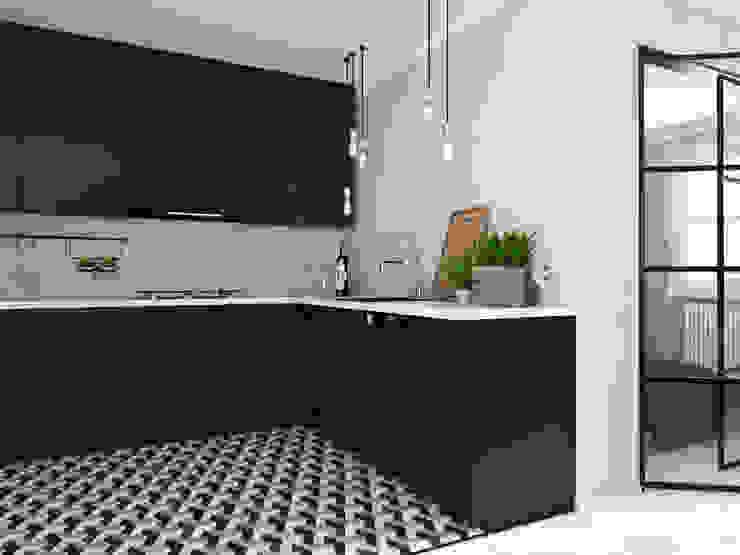 Mieszkanie Mysłowice Klasyczna kuchnia od FOORMA Pracownia Architektury Wnętrz Klasyczny