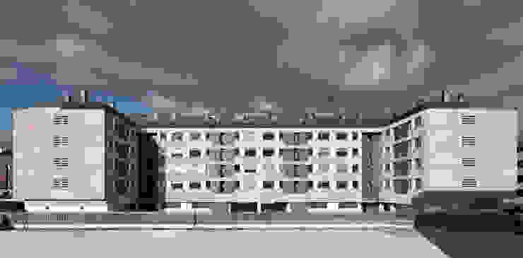 Guindalera Residential Building Ignacio Quemada Arquitectos Modern Houses