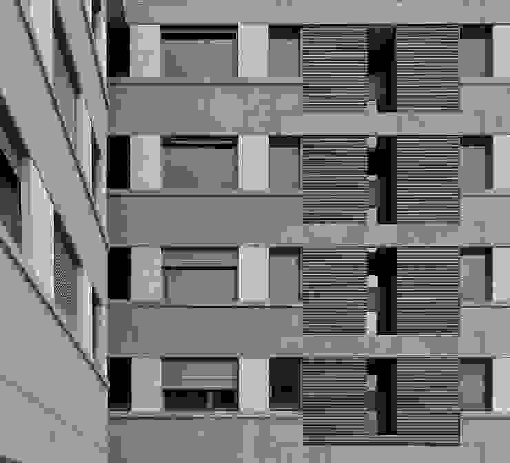 Guindalera Residential Building Ignacio Quemada Arquitectos Modern Terrace